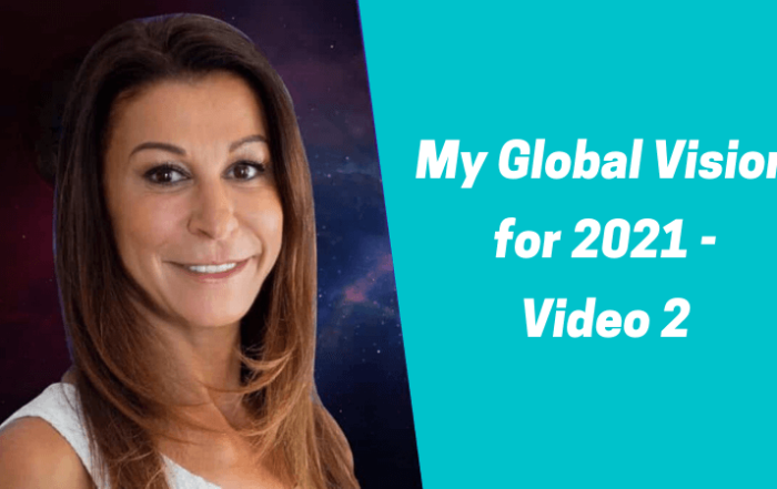 My Global Vision for 2021 video 2