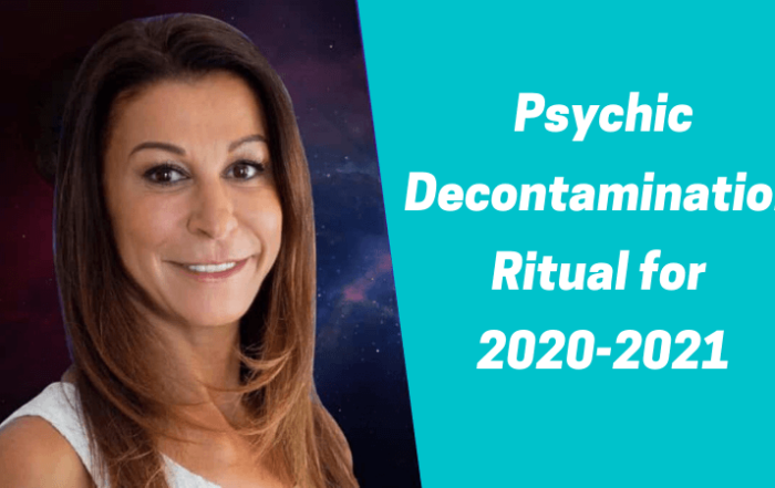 Psychic Decontamination Ritual for 2020-2021